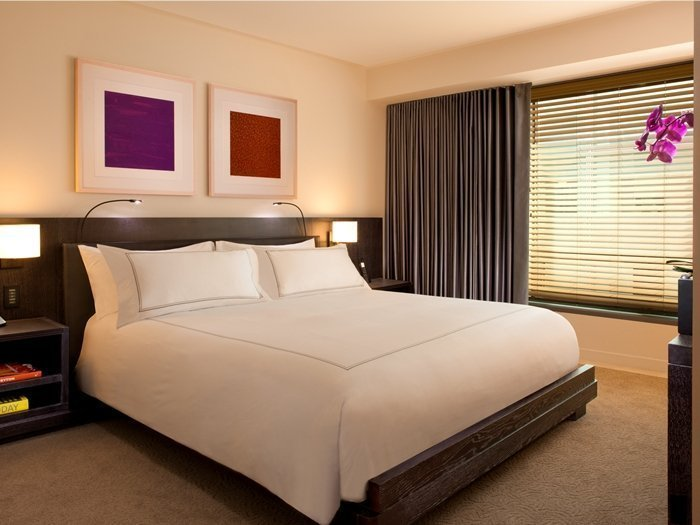 The bedroom of our Premier Suite