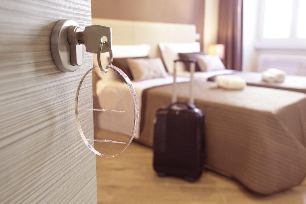 hotel linen guests