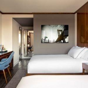 ropa de cama hotel nueva york