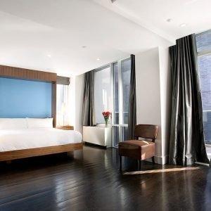 sabanas blancas de hotel new york