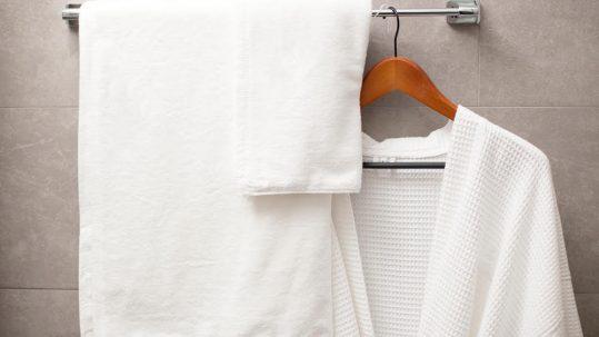 hotel bath linens