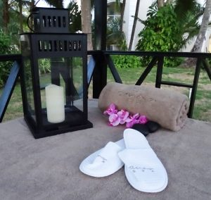 zapatillas de hotel, spa